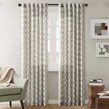 Nakita Linen Single Curtain Panel