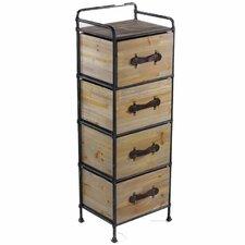 Storage 4 Drawer Chest