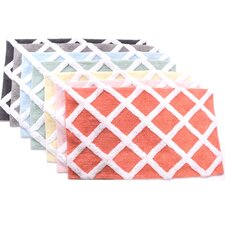Diamond Trellis Bath Mat
