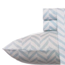 Chevron Flannel Sheet Set
