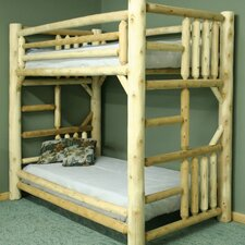 Bunk Bed with Built-in Ladder