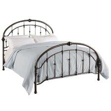 Queen Metal Panel Bed