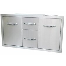 Multi Storage Warming and Cooking Drawer Tank Tray Combo