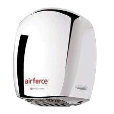 Airforce Hi-Speed 110 / 120 Volt Hand Dryer in Aluminum Brushed Chrome