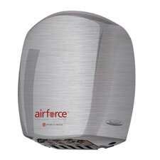 Airforce Hi-Speed 110 / 120 Volt Hand Dryer in Brushed Stainless Steel