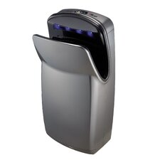 Vmax, Hi-speed Vertical Hand Dryer in Silver