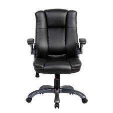 Mid-Back Manager Executive Chair with Flip-up Arms