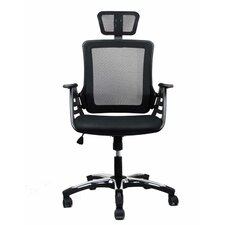 High-Back Conference Chair with Headrest
