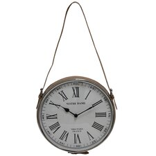 "12"" Hourly Hanging Wall Clock"