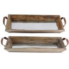 Grier 2 Piece Tray Set