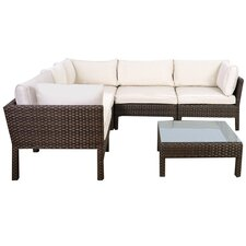 Atlantic St. Etienne 6 Piece Seating Group with Cushions