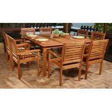Amazonia 9 Piece Dining Set
