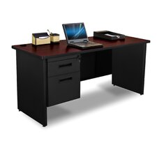 Pronto Single Pedestal and Box / File Computer Desk