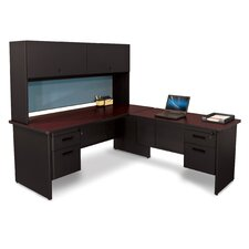 Pronto Computer Desk with Hutch