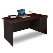 Pronto Executive Desk with 2 Right Drawers