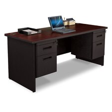 Pronto Double Pedestal and Box / File Executive Desk