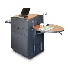 Vizion Media Center Stationary Lectern
