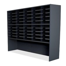 40 Compartment Mailroom Organizer