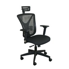Conference Mesh Chair with Headrest