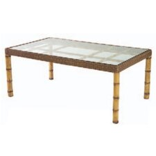 South Terrace Rectangular Dining Table with Glass Top