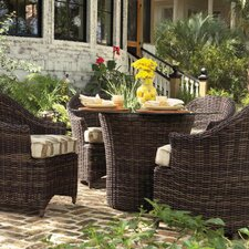 Sonoma 5 Piece Dining Set with Cushions