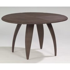 Bali Round Dining Table with Woven Top