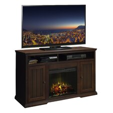 New Harbor TV Stand with Electric Fireplace