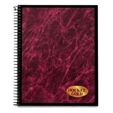 60 pt. Docket Gold Project Planner Book (Set of 24)