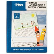 """9.75"""" x 7.5"""" Primary Handwriting and Sketch Journal (Set of 24)"""