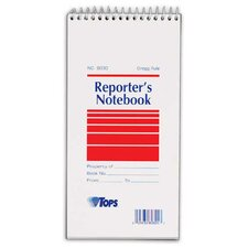 Gregg Rule Reporter's Notebook (Set of 24)