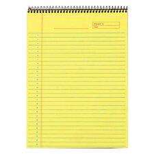 60 pt. Docket Gold Top Wire Notebook (Set of 12)