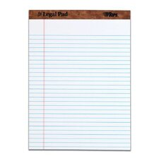 30 pt. Perforated Legal Rule Legal Pad (Set of 72)