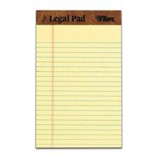 30 pt. Perforated Jr. Legal Rule Legal Pad (Set of 144)