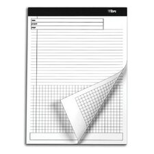 60 pt. Docket Gold Grid At Bottom Project Planning Pad (Set of 72)