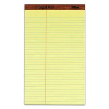 30 pt. Perforated Law Rule Legal Pad (Set of 72)