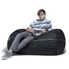 Denim 4' Bean Bag Lounger