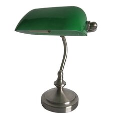 """Simple Designs 9.16"""" H Table Lamp with Rectangular Shade"""