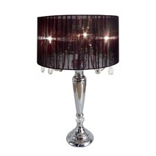 """Trendy 27.5"""" H Table Lamp with Drum Shade"""