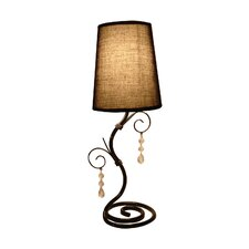 "Twisted Vine 18.5"" H Table Lamp with Empire Shade"