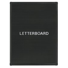 """Wall Mounted Letter Board, 2'4"""" H x 1'10"""" W"""
