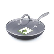 """Lima Hard Anodized 12"""" Nonstick Frying Pan with Lid"""
