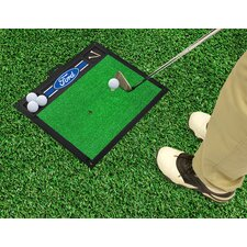 Ford Oval Golf Hitting Doormat