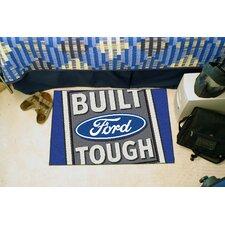 Ford Blue/Grey Built Tough Area Rug