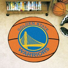 NBA Golden State Warriors Basketball Doormat