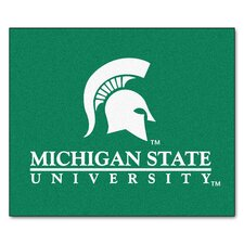 Collegiate Michigan State Tailgater Outdoor Area Rug