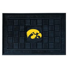 Collegiate University of Iowa Medallion Doormat
