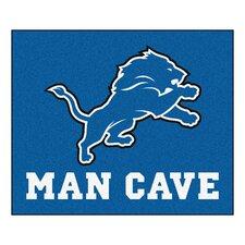 NFL Detroit Lions Man Cave Outdoor Area Rug