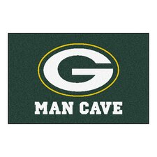NFL Green Bay Packers Man Cave Starter Area Rug