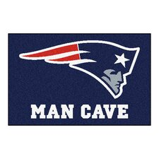 NFL New England Patriots Man Cave Starter Area Rug