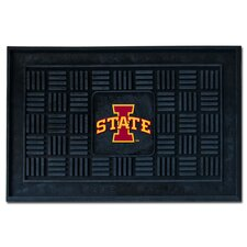 Collegiate Iowa State University Medallion Doormat